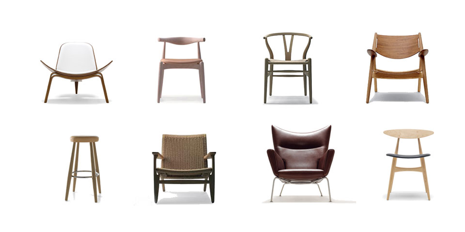 SCANDINAVIAN DESIGN Carl Hansen Chairs