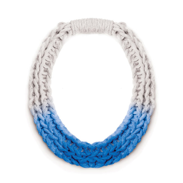 Chunky Jewellery Saloukee Purls Necklace Blue