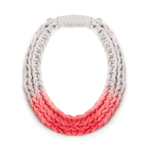 Chunky Jewellery Saloukee Purls Necklace Red