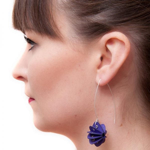 Handmade Delicate Jewellery Paper Earrings Unity Brights by Saloukee Lifestyle