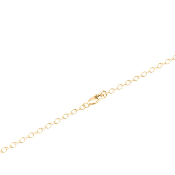 Independent British Handmade-Jewellery Paper Necklace Disperse Gold Pendant Clasp by Saloukee