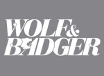 JEWELLERY PRESS SALOUKEE WOLF AND BADGER LOGO