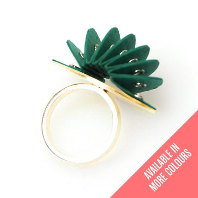 Talking Point Jewellery Handmade Paper Ring Saloukee