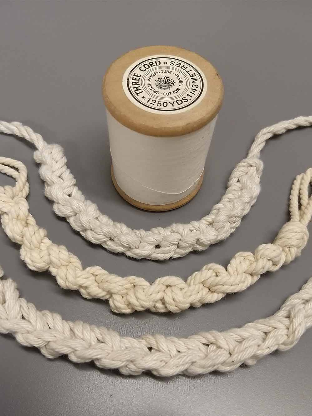 Cotton Rope Necklace Samples