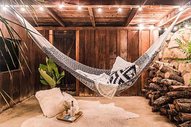 Second anniversary gift ideas cotton hammock
