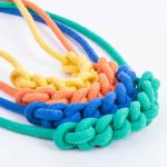 Knot Necklace in all colours