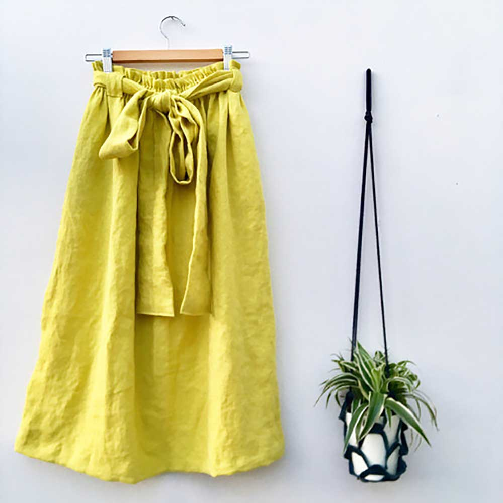 Fourth Anniversary Gift Ideas Linen skirt