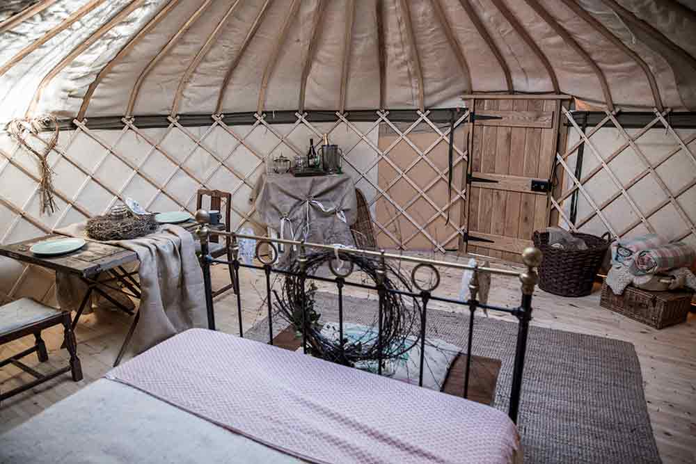 Shropshire Business Luxury Yurt