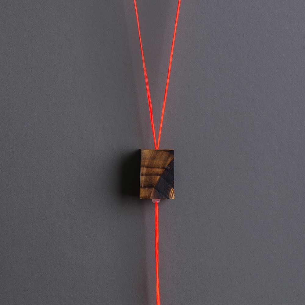 Neon Wood Pendant Jewelry