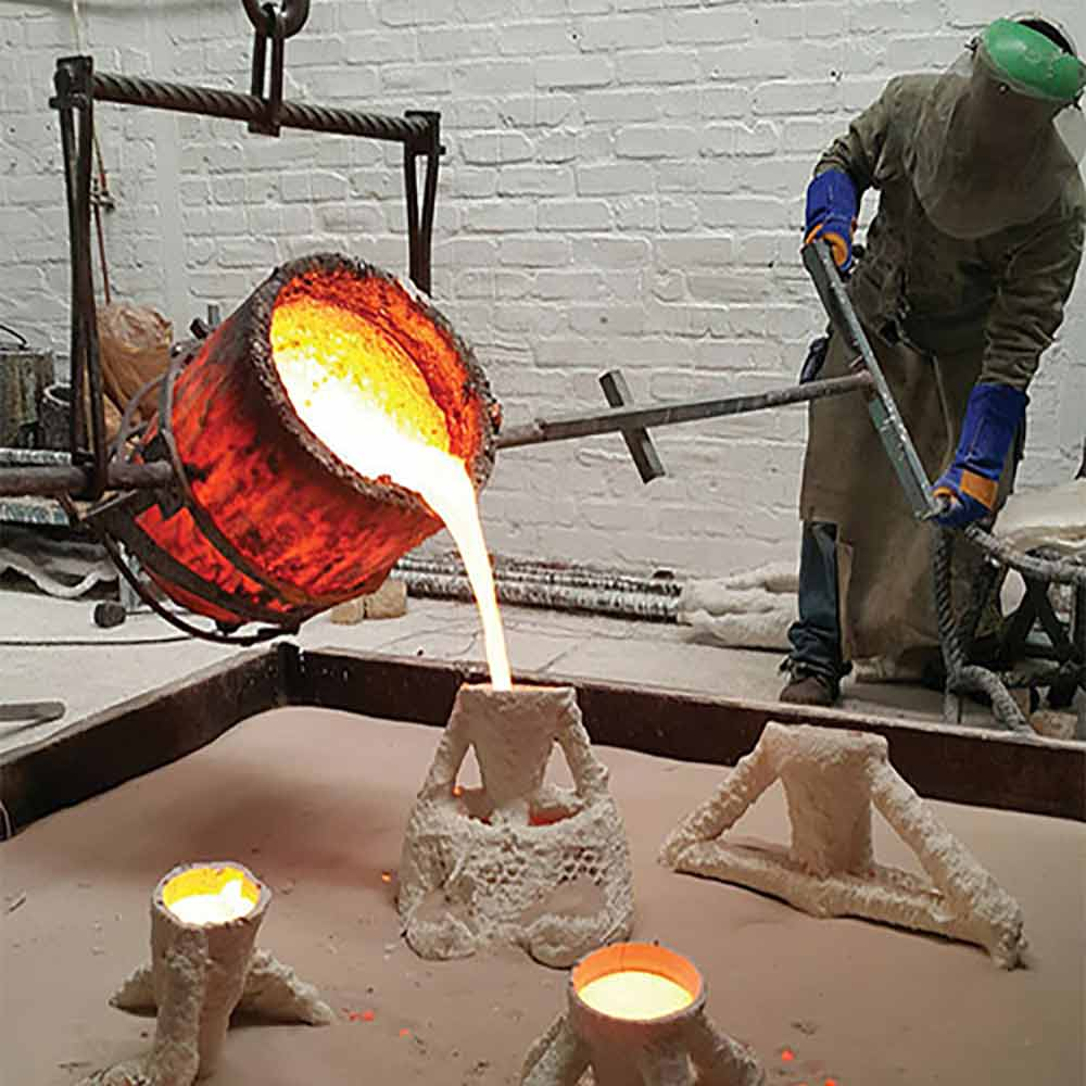 Eighth wedding anniversary gift ideas bronze age casting foundry
