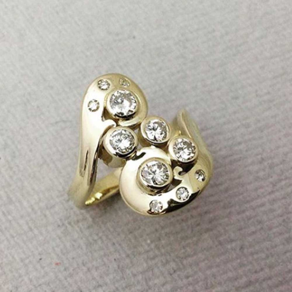 UK Made Ethical Jewellery Engagement Ring