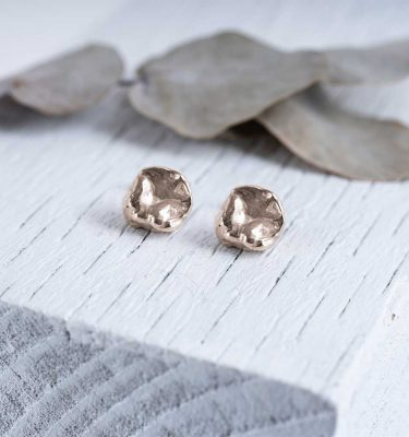 Bronze Studs Earrings