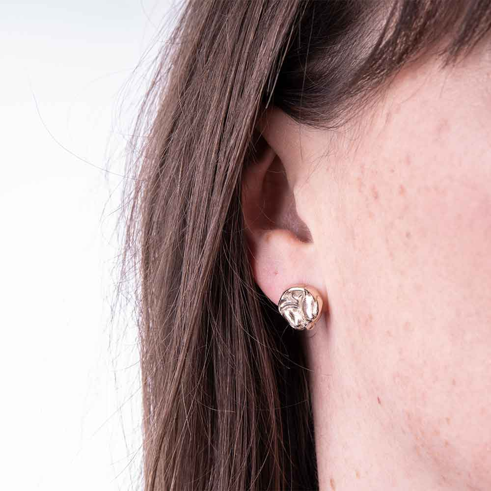 Bronze Stud Earrings For Her