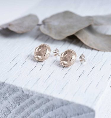 Bronze Studs Saloukee Jewellery