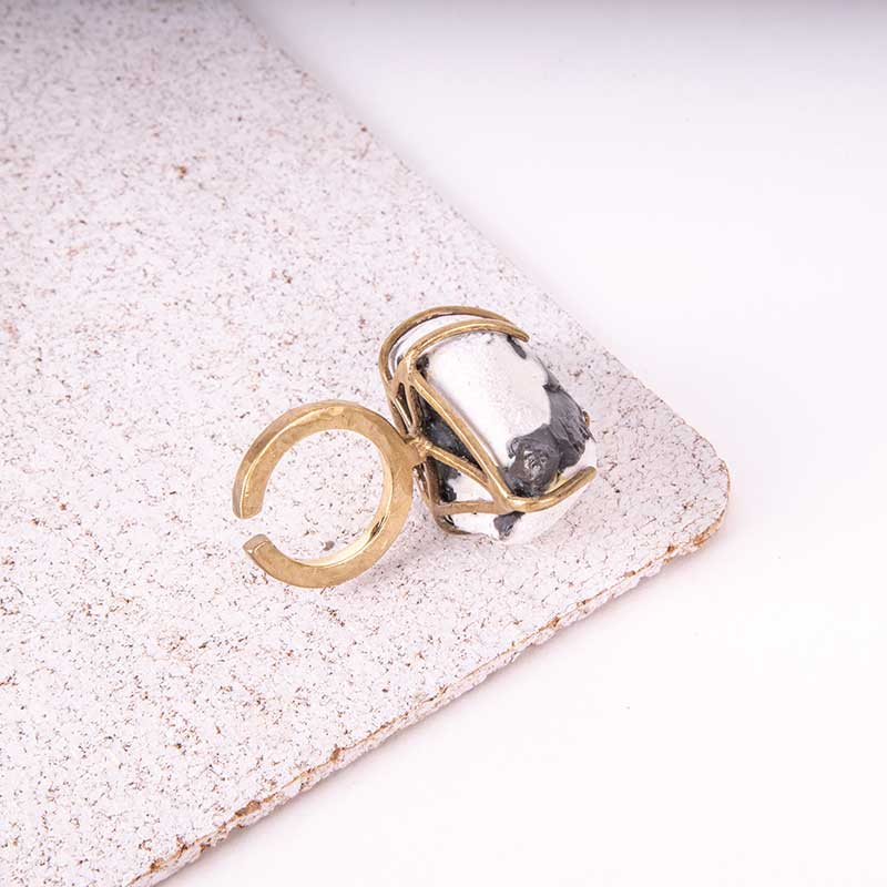 Raw Stone Beachcomber Ring