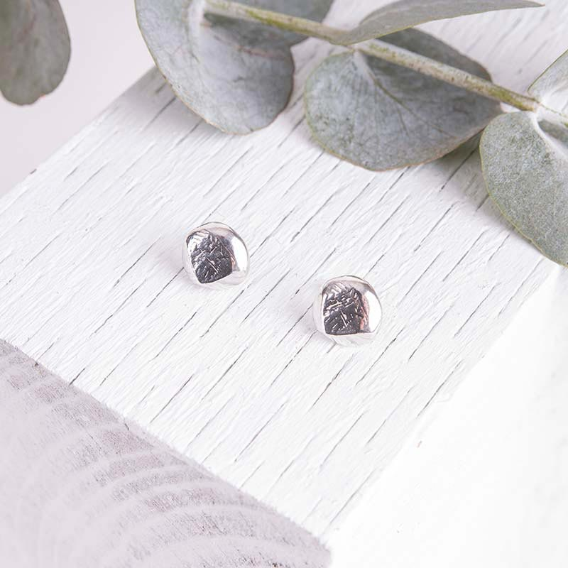 Organic Silver Jewellery Earrings