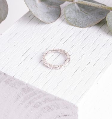 Organic Textured Ring Ladies