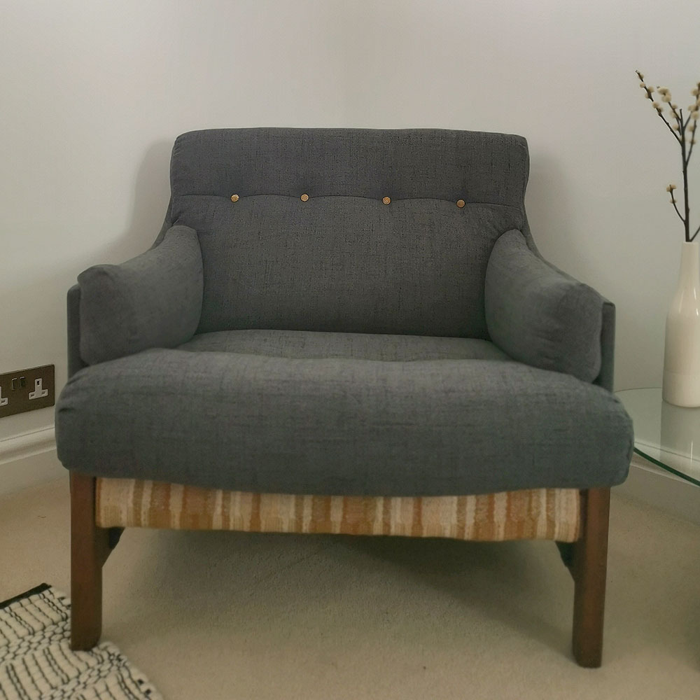 Setting Your Sights Upholstery Project